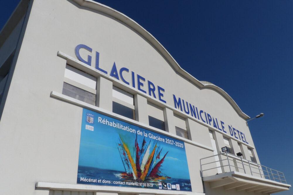 La Glacière municipale d'Étel © A. HAMEL / SMGSGQ